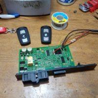 Изготовление чип ключей для автомобиля BMW.