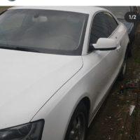 Вскрытие замков автомобиля в городе Краснодаре. На этом фото было вскрытие автомобиля AUDI A5 с двойной системой запирания.