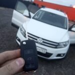 Ключ с чипом для Tiguan